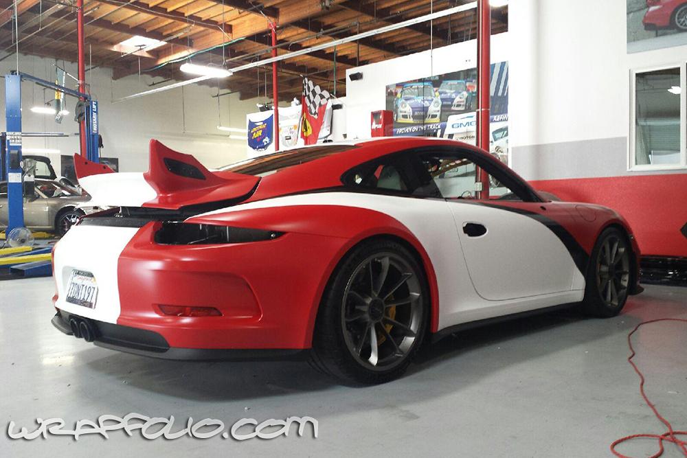 Race Inspired Porsche Wrap Wrapfolio