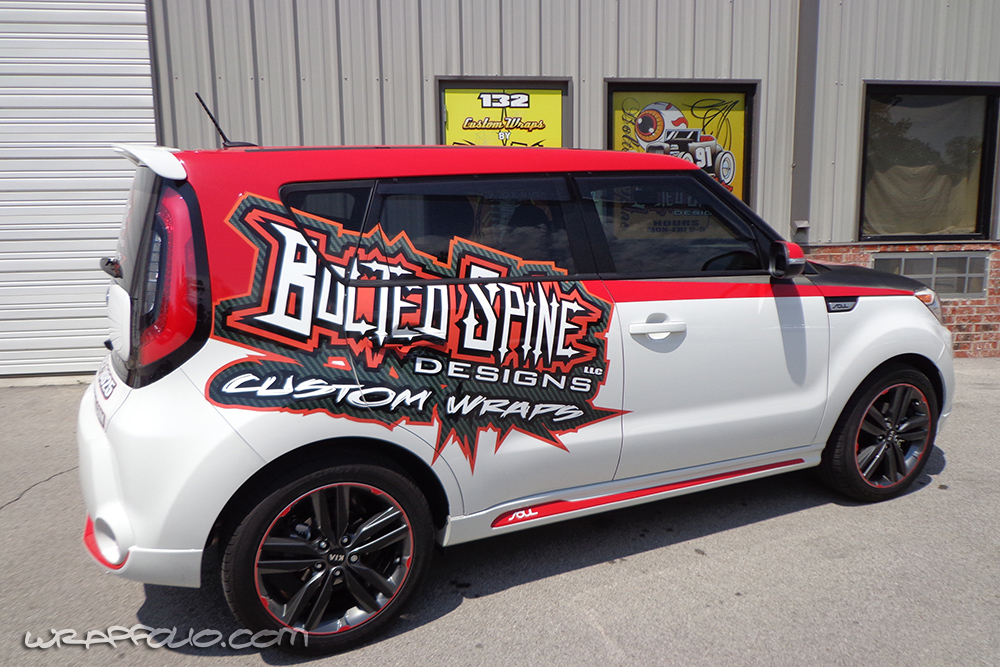 Bolted Spine Kia Soul Wrap Wrapfolio