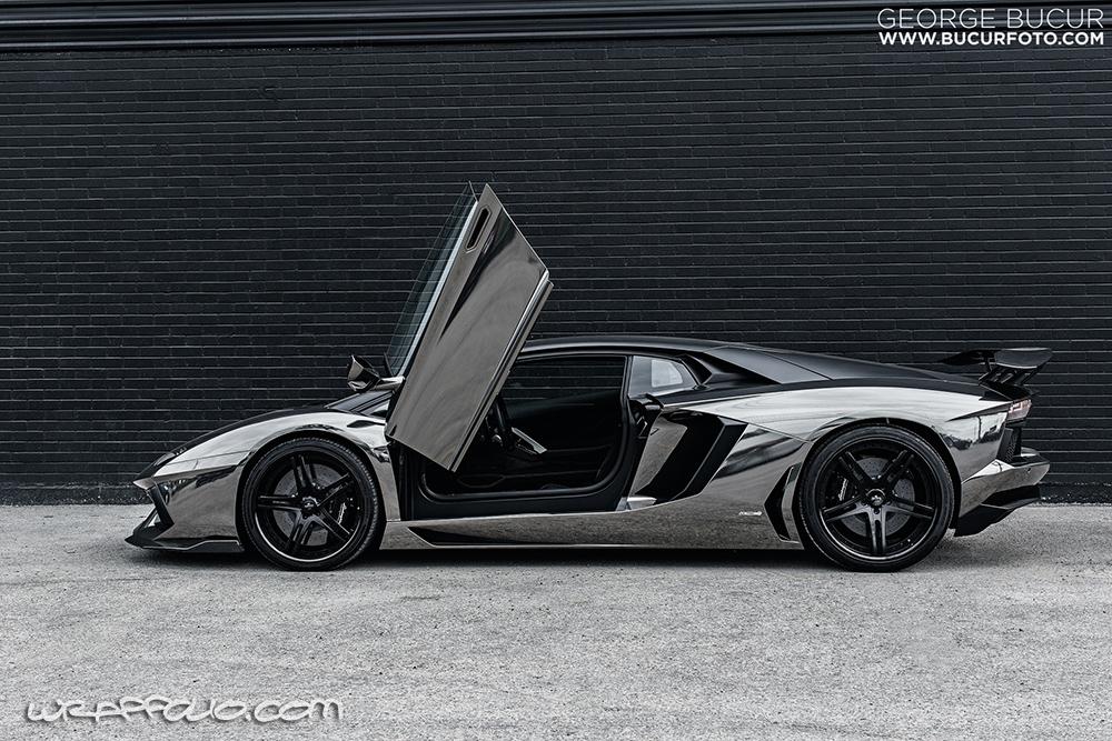 Black Chrome Aventador Wrap Wrapfolio