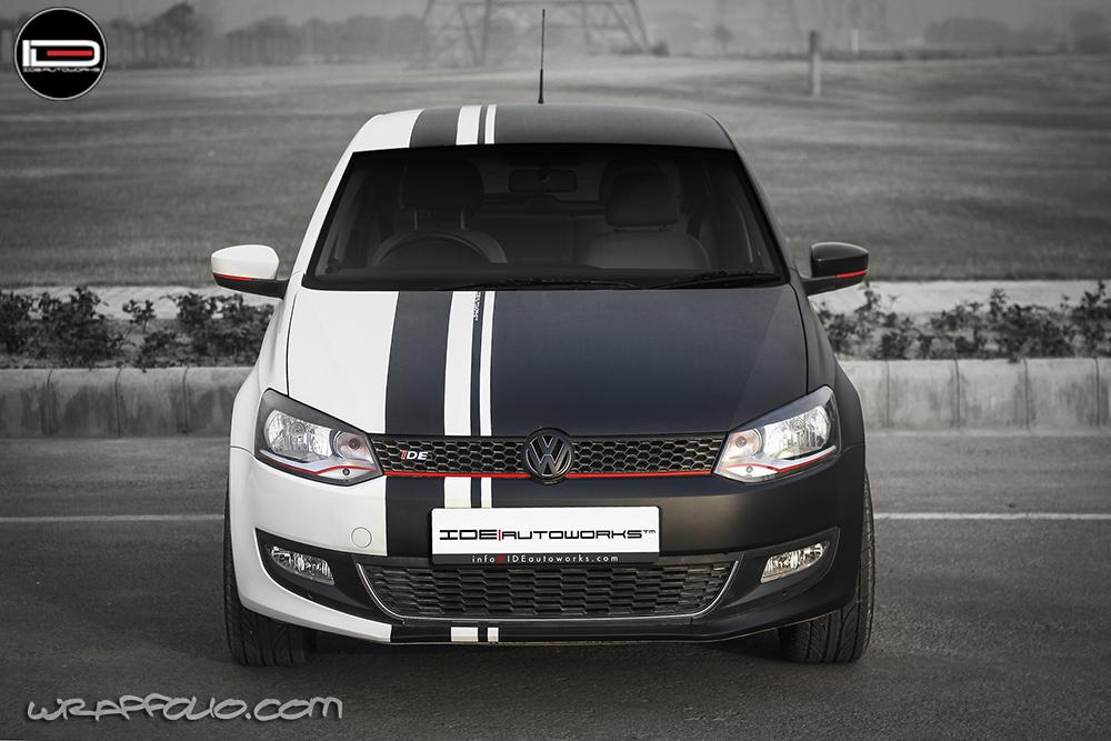 BW VW Polo Wrap | Wrapfolio