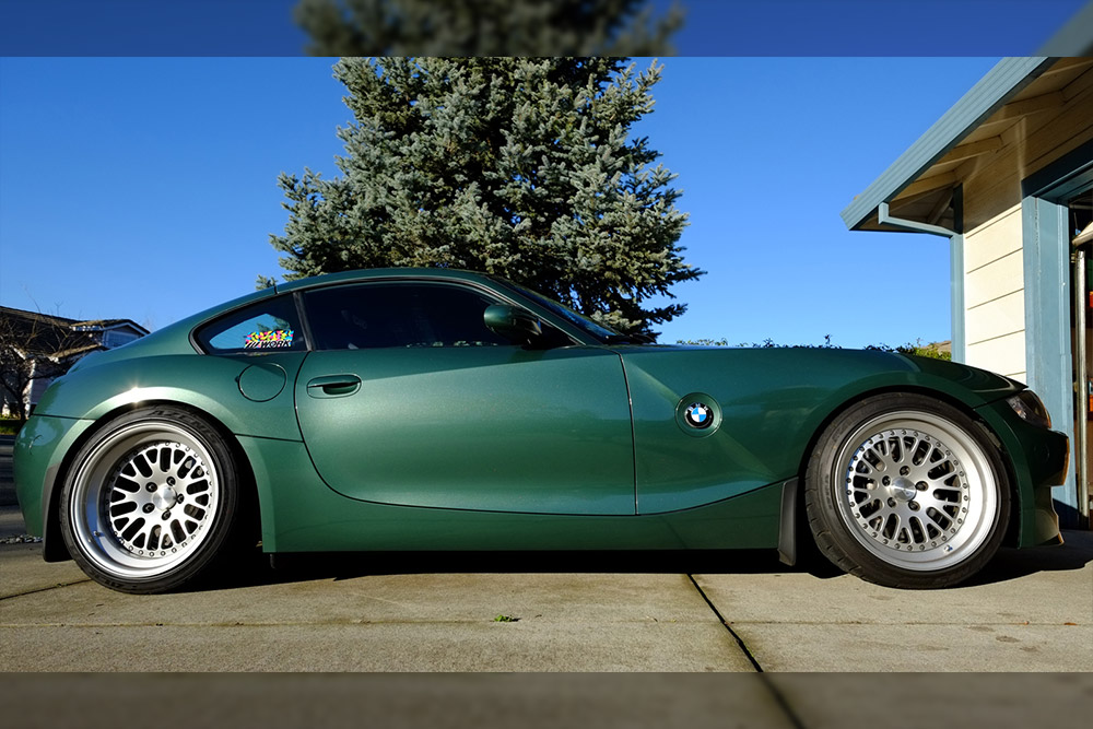 Fir Tree Green Metallic Z4 M Coupe Wrapfolio