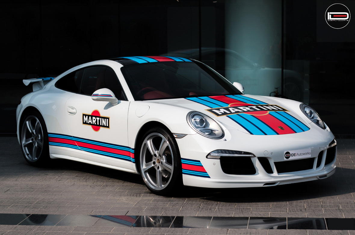 martini livery porsche 911 wrap wrapfolio. Black Bedroom Furniture Sets. Home Design Ideas