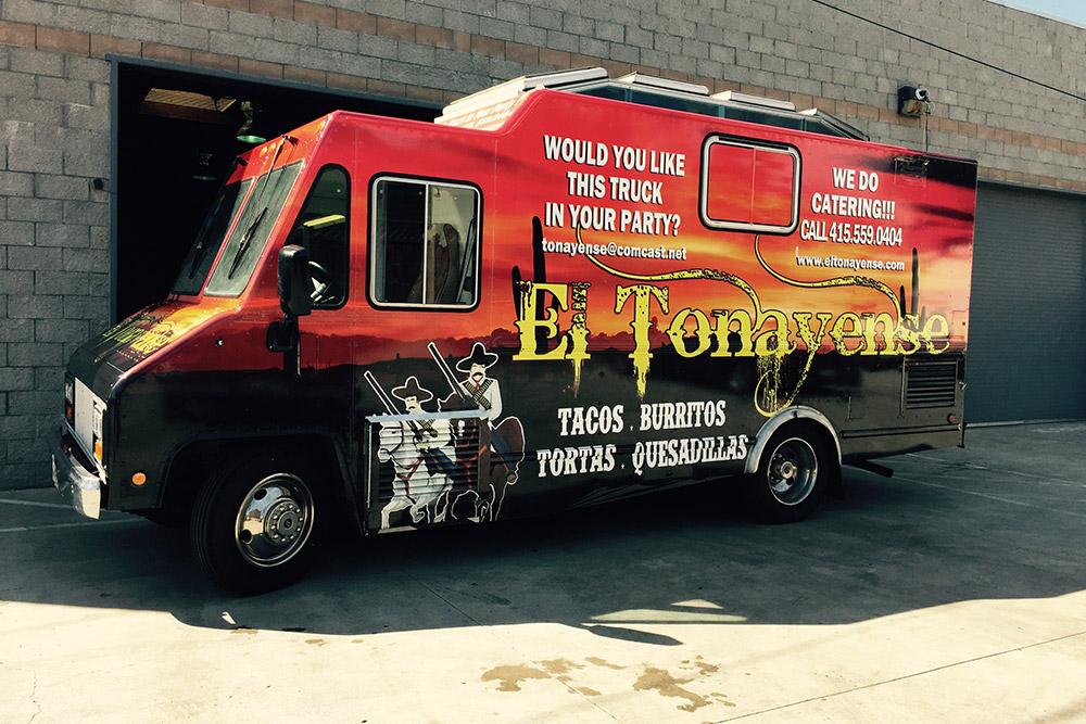 El Tonayense Food Truck