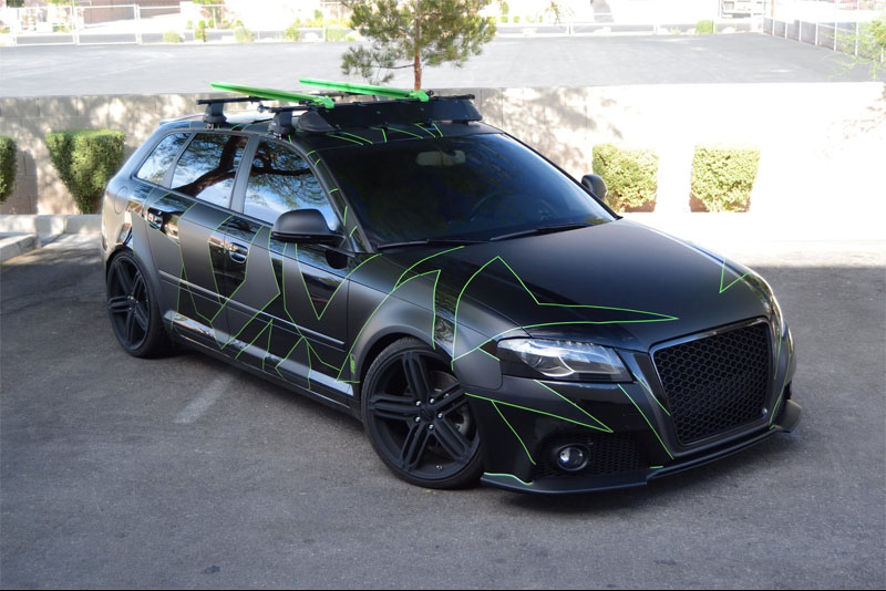 audi a3 designer camo wrap wrapfolio. Black Bedroom Furniture Sets. Home Design Ideas