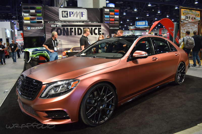 Kpmf Matte Russet Red Mercedes Wrapfolio