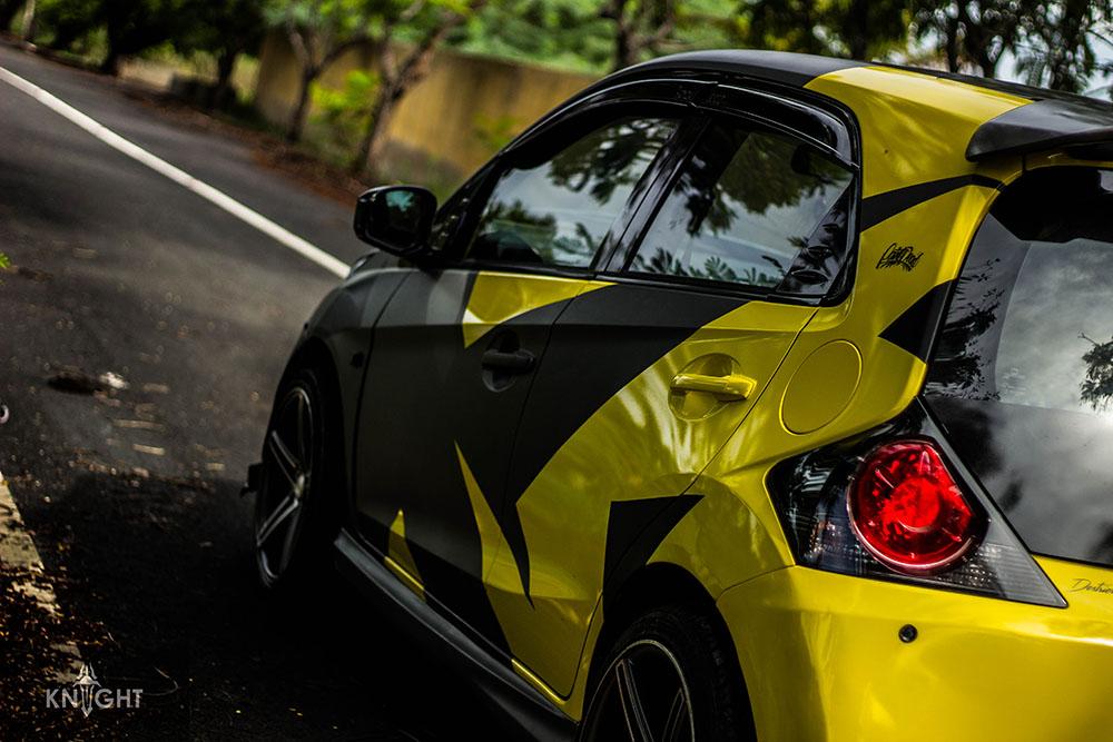 Wild Honda Brio Wrap Wrapfolio