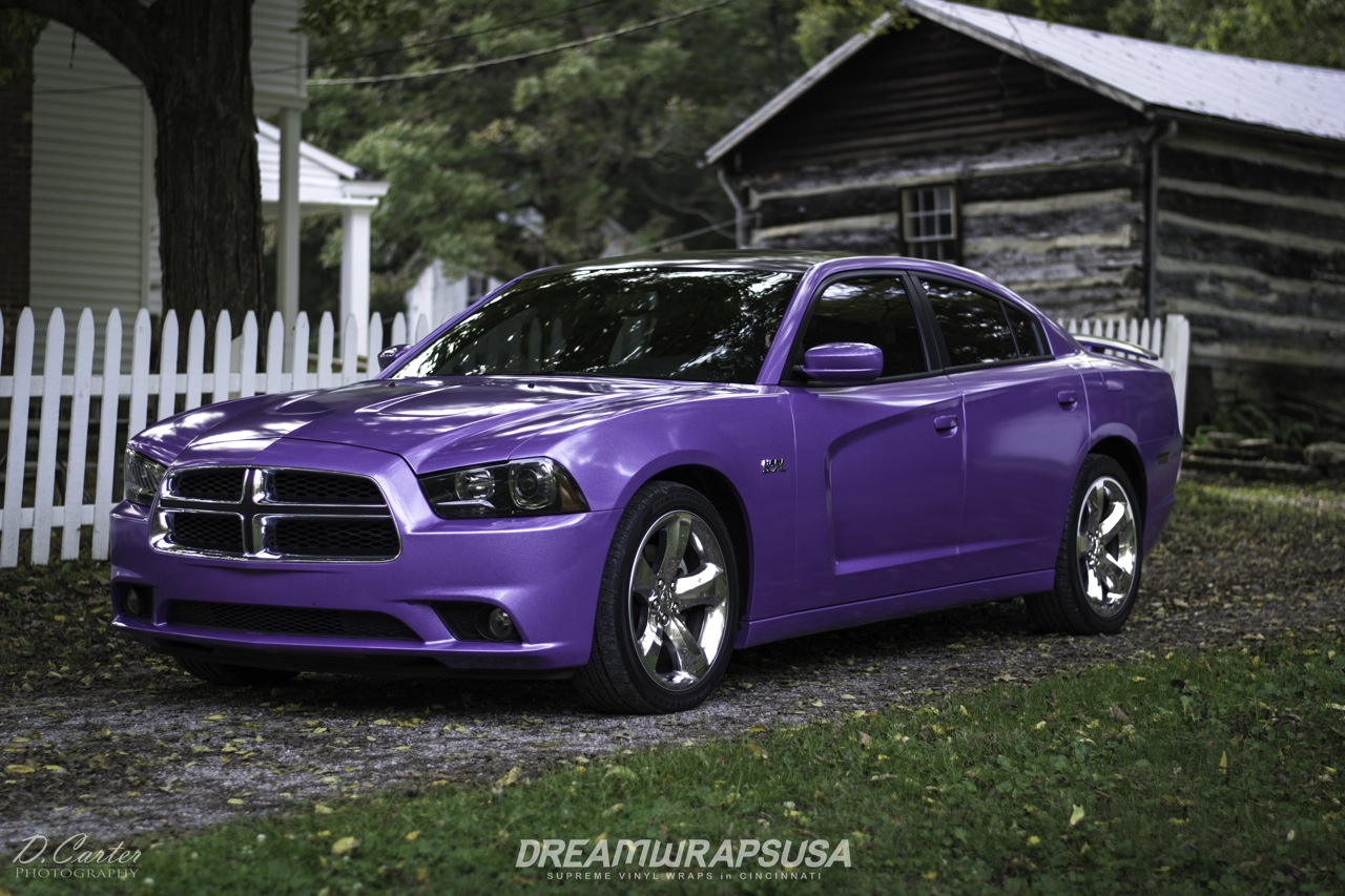 Diamond Purple Charger Wrap Wrapfolio