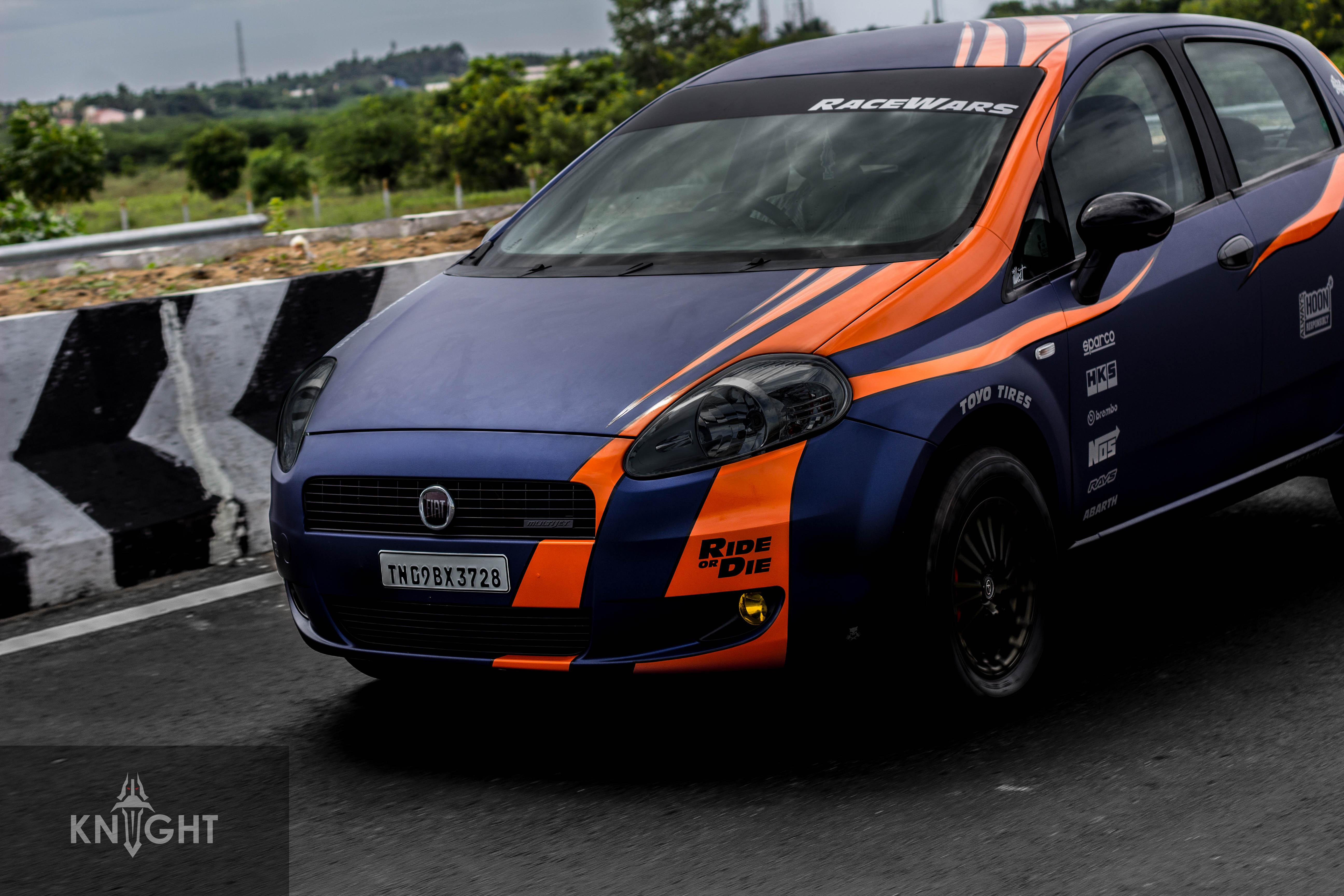 Fiat Punto Custom Wrap Wrapfolio